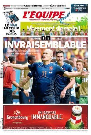 Audiences du Mondial sur TF1 : carton pour Espagne - Pays-Bas.