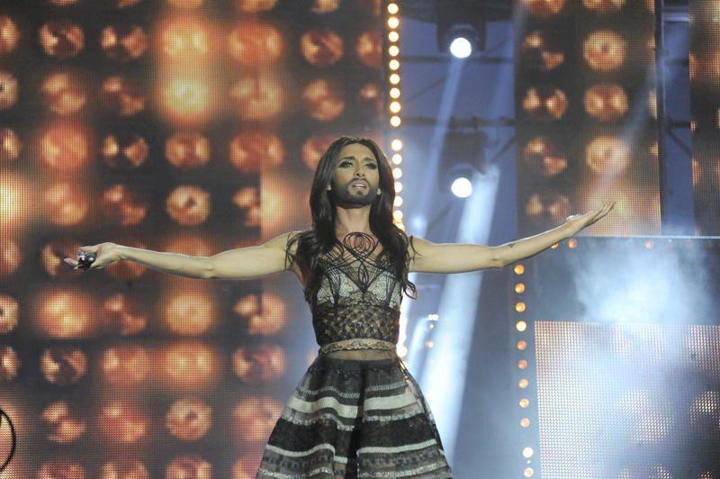 Revoir la prestation de Conchita Wurst lors de la fête de la musique à Montpellier.
