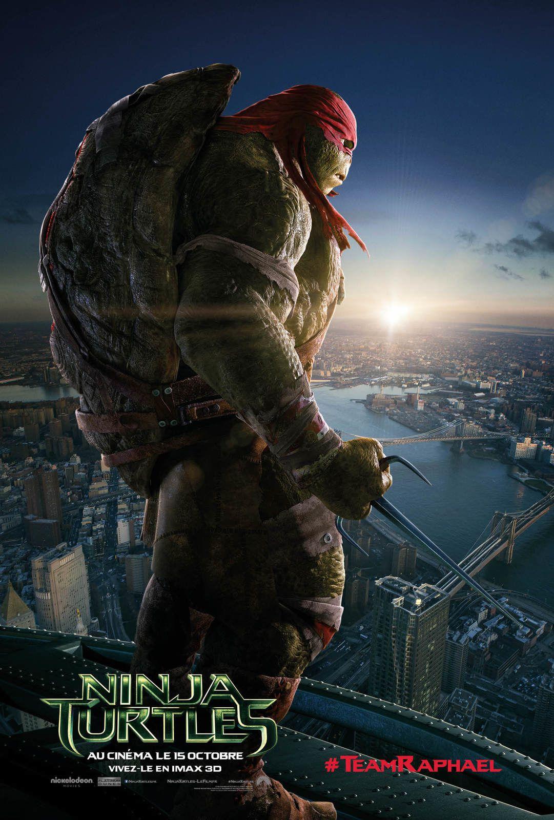 Ninja Turtles : 4 nouvelles affiches.