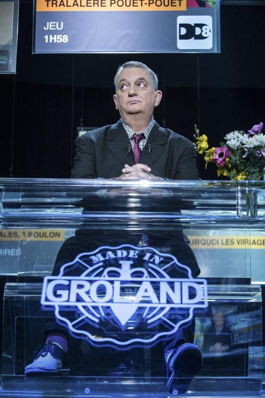 Groland : Moustic plus seul à la présentation...