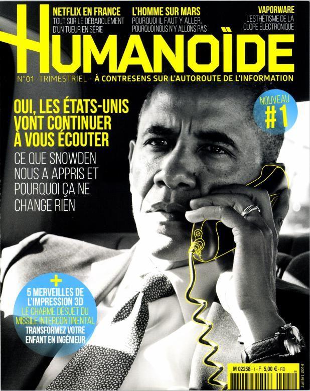 Nouveauté presse ce mercredi : le magazine Humanoïde.