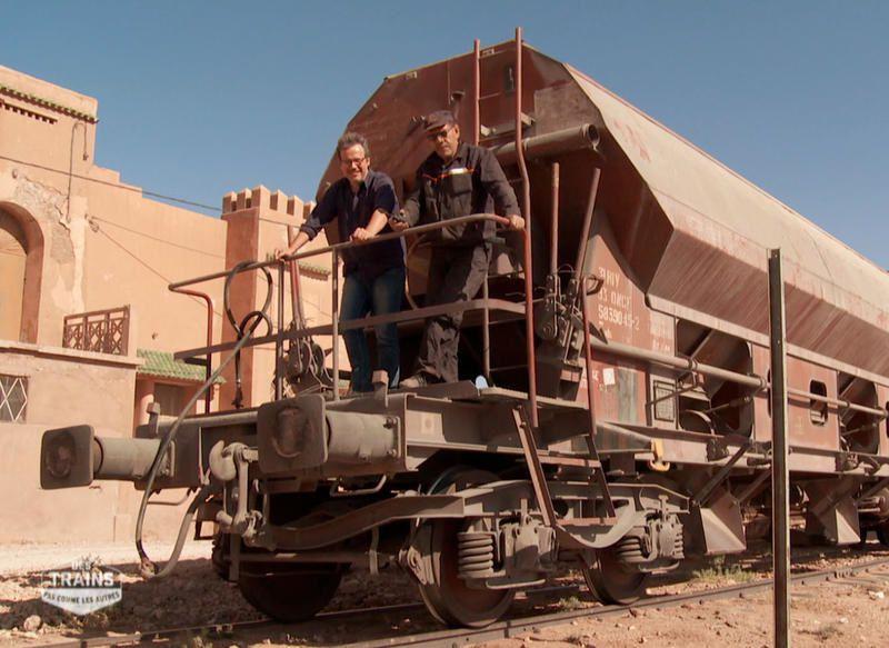 Des trains pas comme les autres : le Maroc ce 31 juillet.