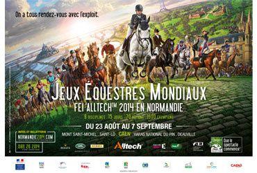 Jeux Equestres Mondiaux 2014 : nombreuses heures de retransmission sur France 3.