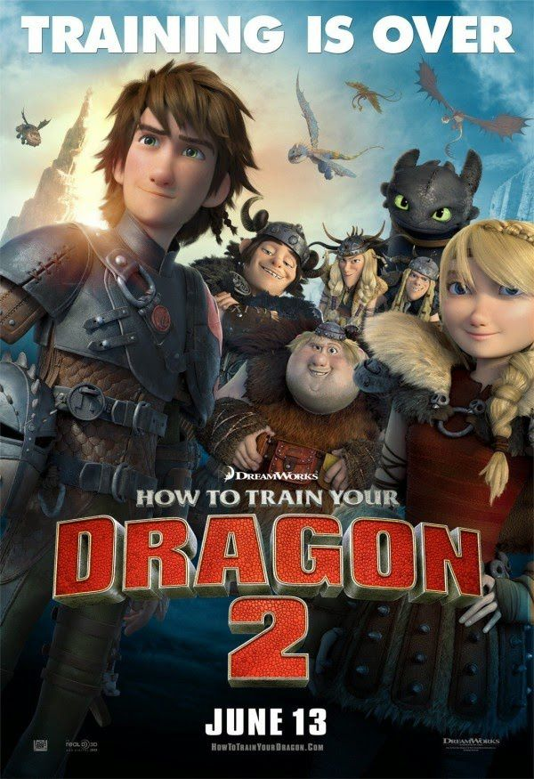 Box-office hebdo : Dragon 2 très largement en tête.