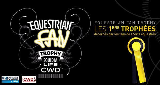 1ère édition de l'Equestrian Fan Trophy (avec Guillaume Canet).