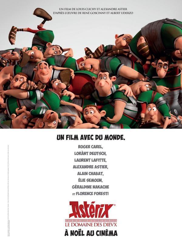Nouvelle affiche teaser d'Astérix, le domaine des Dieux