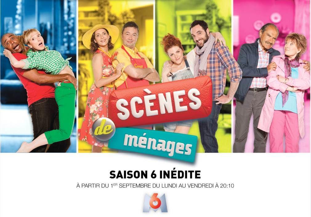 Scènes de ménages : saison 6 inédite, à partir du 1er septembre.