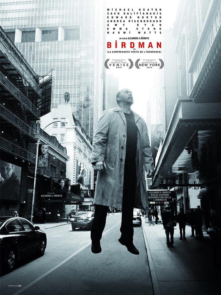 Birdman d'Alejandro Iñárritu : nouvelle bande-annonce.