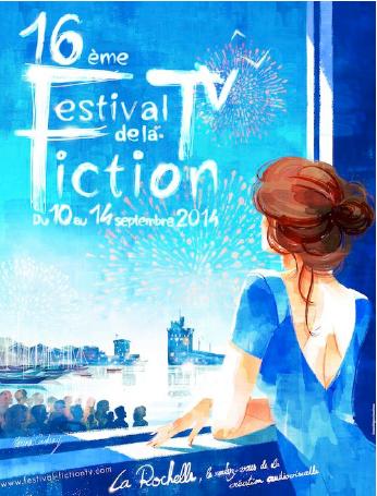 Le jury du Festival Fiction TV de La Rochelle (septembre 2014).