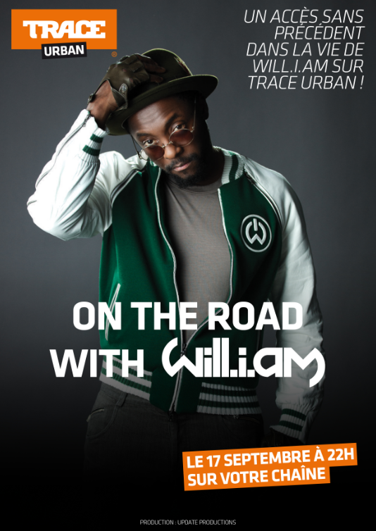 On The Road With Will.i.am, dès le 17 septembre sur Trace.