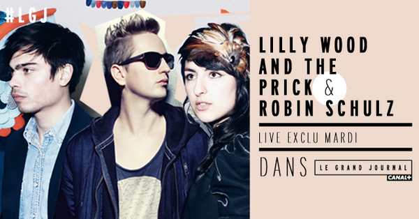 Lilly Wood &amp&#x3B; The Prick en live au Grand Journal.