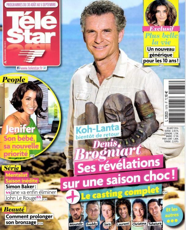 Presse : La Une des magazines TV ce lundi 25 août.