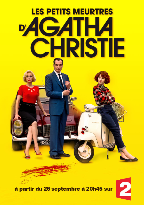 Des inédits des Petits meurtres d'Agatha Christie dès le 26 septembre.