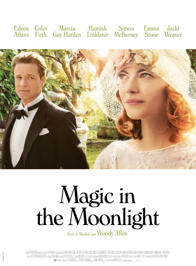 L'affiche française de Magic in the moonlight, de Woody Allen.