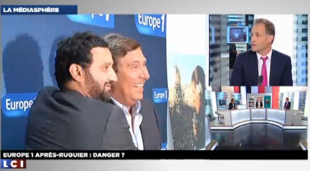 Hanouna successeur de Ruquier sur Europe 1: Du temps lui sera donné.