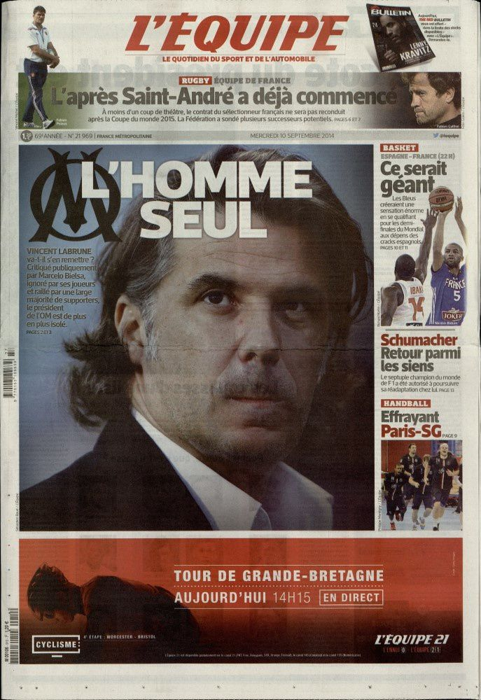 La Une de la presse quotidienne nationale ce 10 septembre.