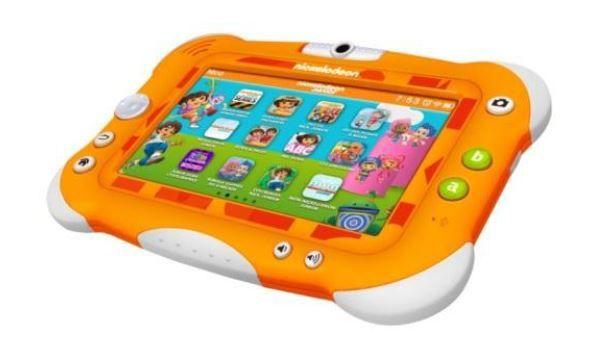 Lancement de la tablette Nickelodeon (3/10 ans).