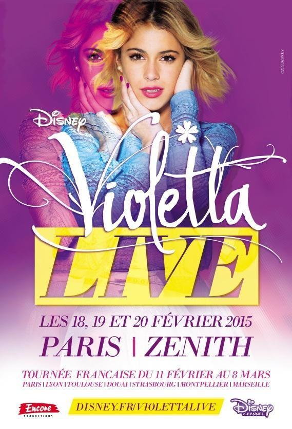 Tournée Violetta Live en France (Marseille, Toulouse, Douai, Lyon...)