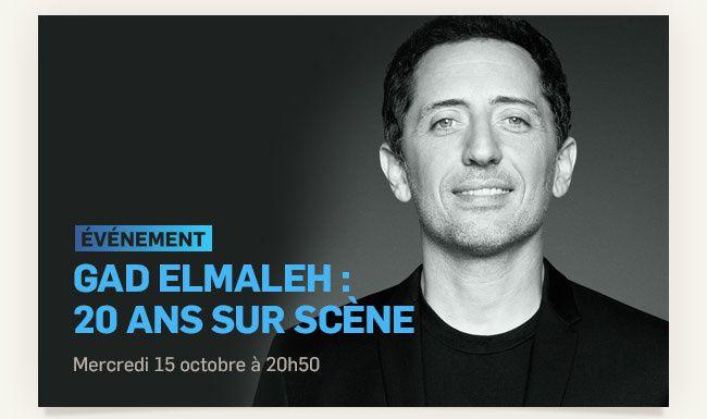 Gad Elmaleh : 20 ans sur scène. Le 15 octobre sur TMC.