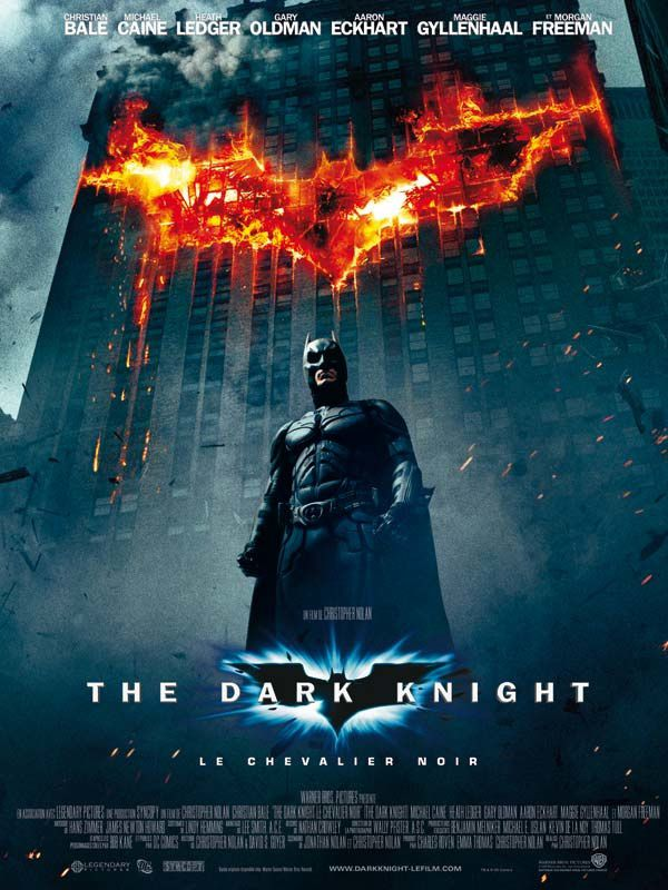 Audience : The Dark Knight battu par Inglourious Basterds.