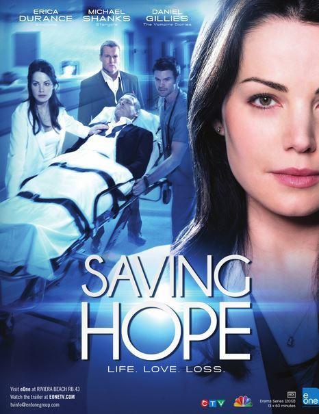La série inédite Saving Hope débarque sur Série Club.