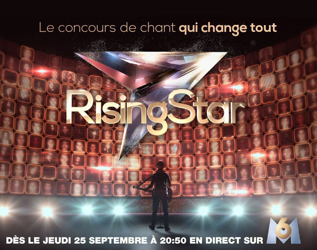 Le divertissement Rising Star en son multicanal 5.1, sur M6.