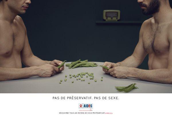 Découvrez la nouvelle campagne AIDES : Pas de préservatif, pas de sexe (Vidéos).