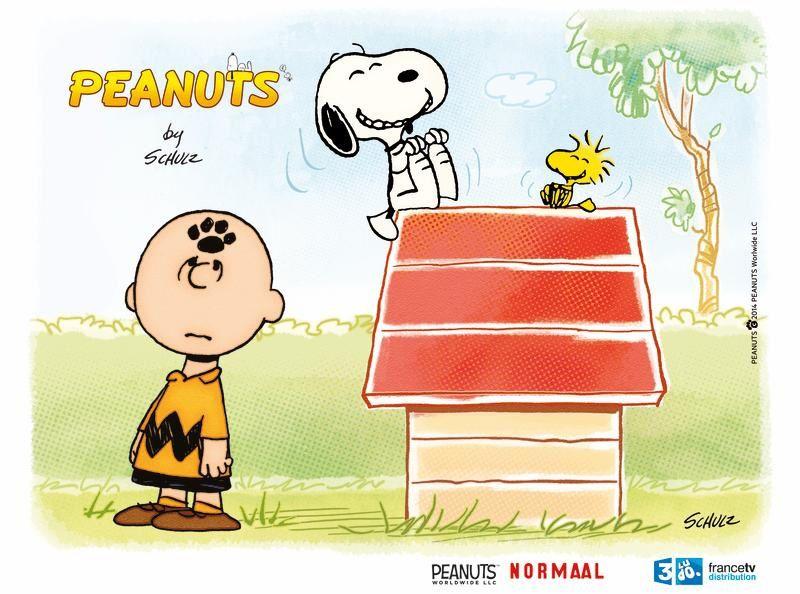 La série animée Peanuts (Snoopy) dès le 9 novembre sur France 3.