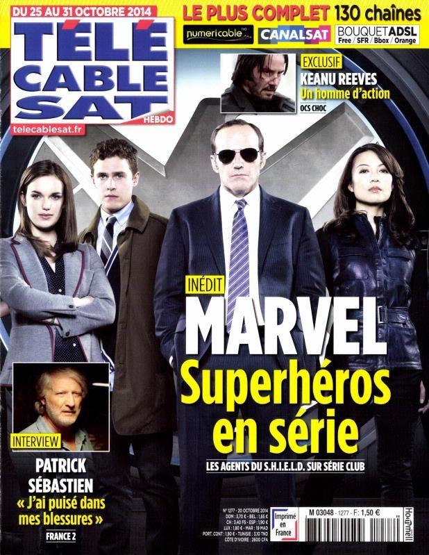 La Une des magazines TV ce lundi 20 octobre.