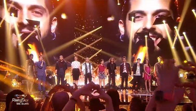 Revoir l'hommage en chanson à Gaël Lopes, sur M6 (Rising Star).