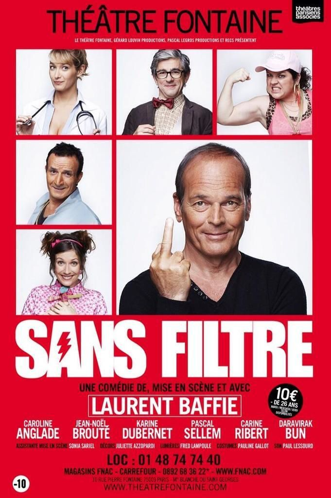 Invités du Vivement dimanche spécial Laurent Baffie ce week-end.
