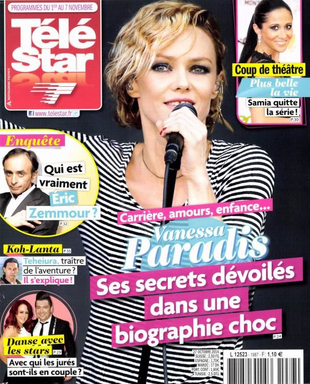 La Une des magazines TV cette semaine.