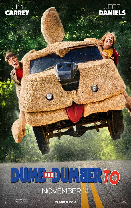 Box-office de ce week-end aux Etats-Unis : Dumb and Dumber To prend la tête.