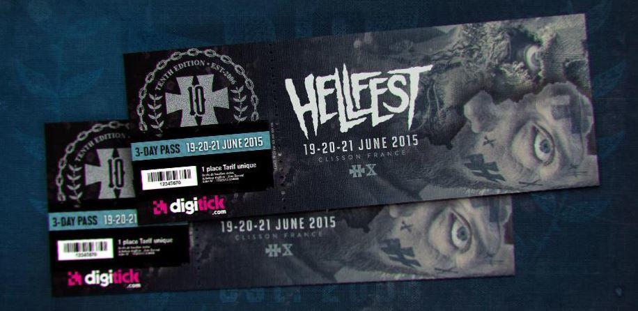 Slipknot, Judas Priest, Korn, Scorpions au Hellfest 2015.