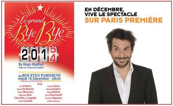 Le grand Bye-Bye 2014 ce lundi soir sur Paris Première.