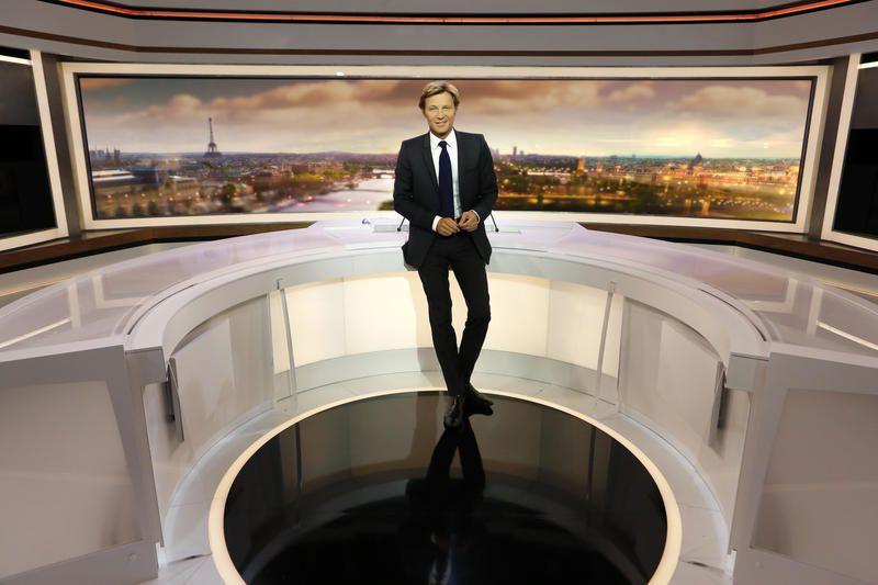 Marine Le Pen et Jean Dujardin invités du 20 heures de France 2 dimanche.