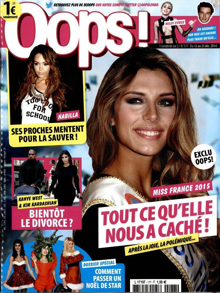 La Une de la presse people ce vendredi : Nabilla, Camille Cerf, Charlene, Florian Philippot.