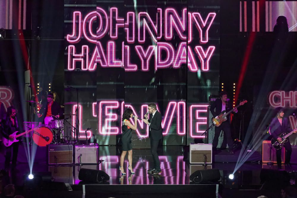 L'envie, de Johnny Hallyday, par Jenifer et Christophe Willem (Vidéo).