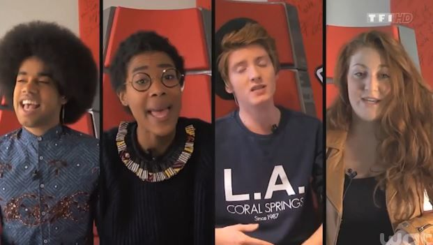 Last Christmas par d'anciens candidats de The Voice 3.