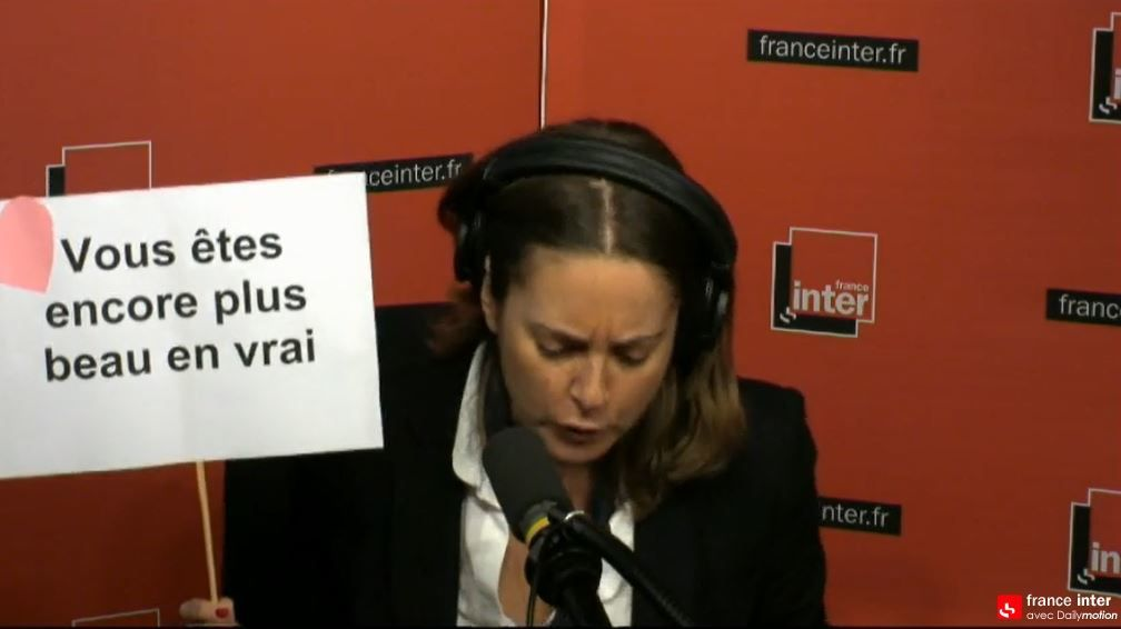 Le Billet de Charline Vanhonacker face à François Hollande (Inter).