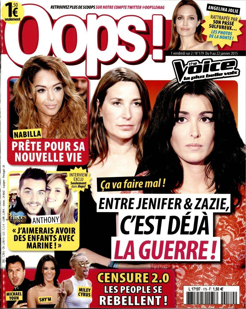 La Une de la presse people ce week-end : Nabilla, Jenifer, Foresti...