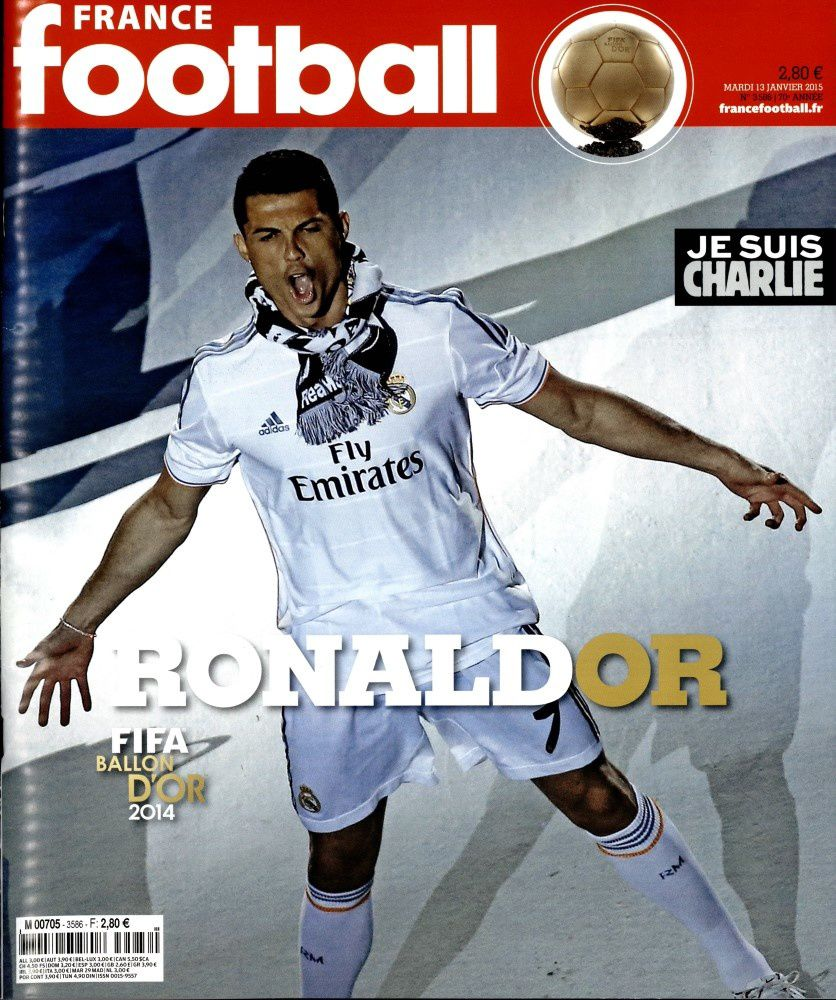 Ronaldo Ballon d'Or : La Une de France Football.