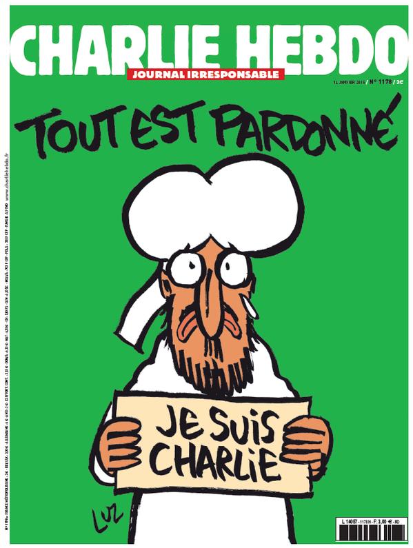 Un énorme tirage pour Charlie Hebdo mercredi 14 janvier.