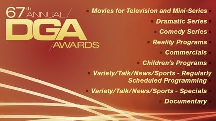 Les nominations télé des DGA Awards 2015.