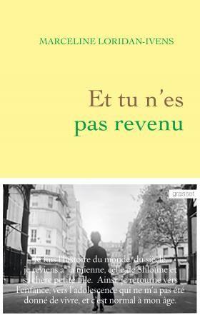 La Grande Librairie ce 5 février : tête à tête avec Marceline Loridan-Ivens.