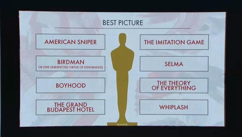 La liste des nominations des Oscars, avec Marion Cotillard en lice.