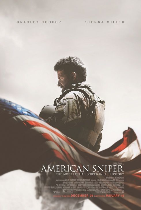 Box-office USA ce week-end : un démarrage record pour American Sniper, de Clint Eastwood.