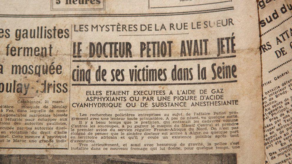 L'ombre d'un doute : numéro consacré ce lundi à l'affaire Petiot.