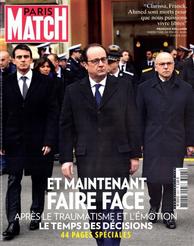 Nouveau numéro spécial de Paris Match ce mercredi.