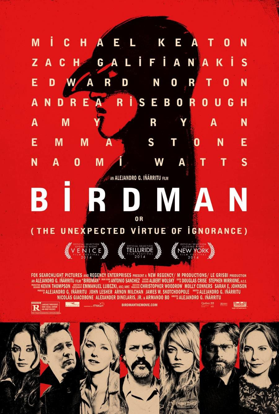 Producers Guild of America Awards 2015 : Birdman meilleur film.